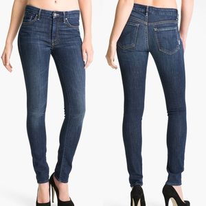 • MOTHER • High Waisted Looker Skinny Jeans Storm